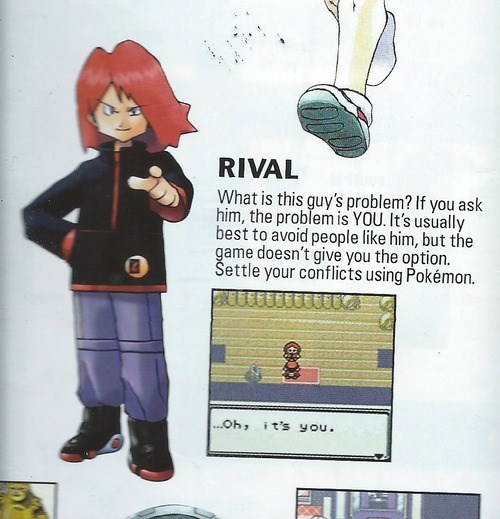 Pokémon rival you suck - 7970368512