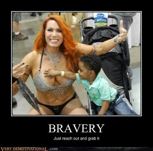 bravery,kids,funny