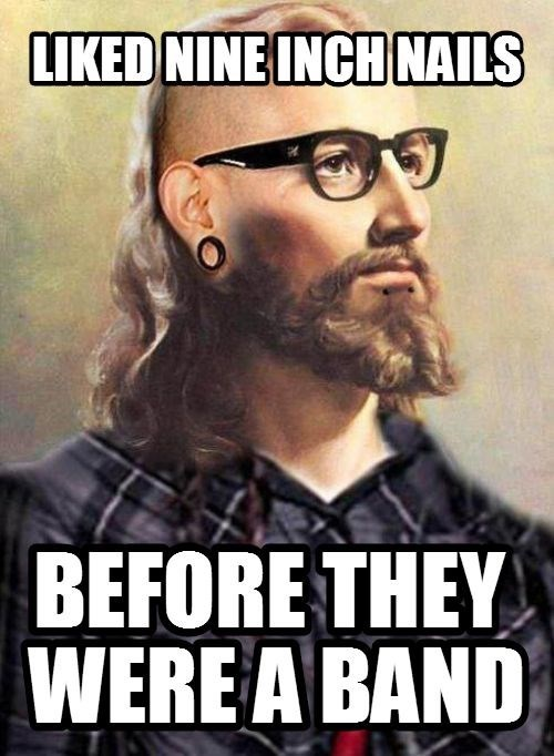 hipster jesus,Music,nine inch nails