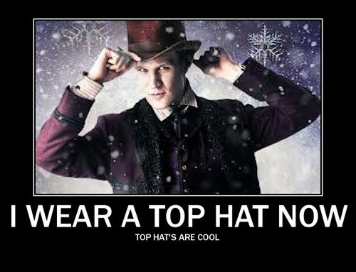 fashion doctor who funny tophats - 7970507008