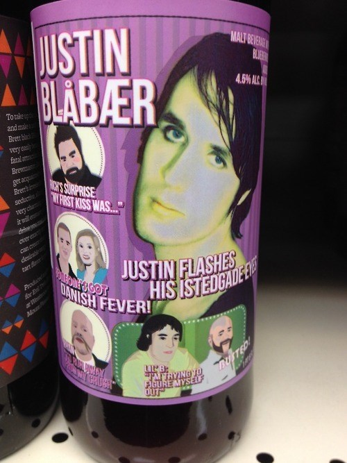 beer label funny justin bieber - 7970526208