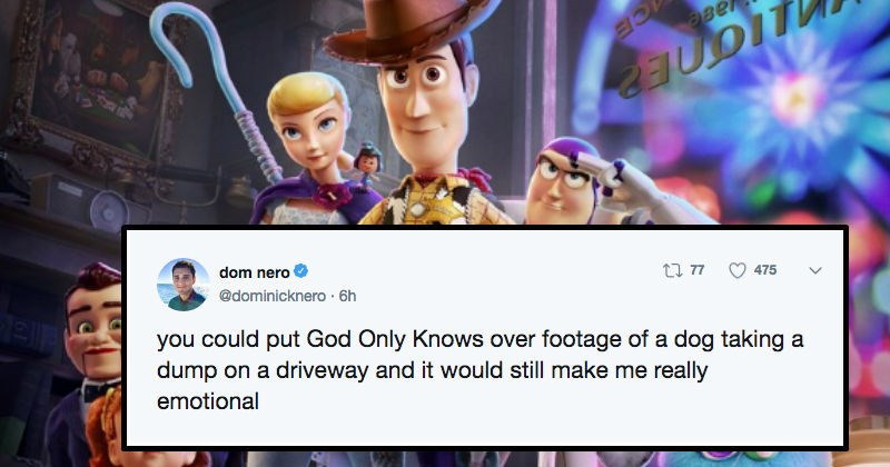twitter news toy story emotional movies reaction the feels - 7970565