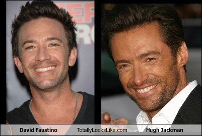 totally looks like hugh jackman david faustino - 7970566912