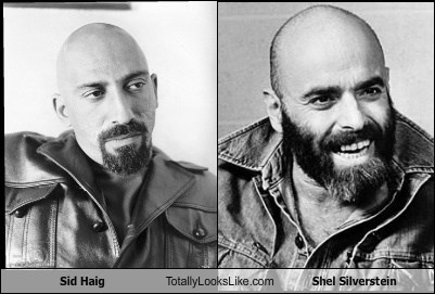 totally looks like shel silverstein sid haig