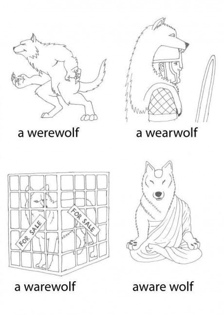 puns,web comics,wolves