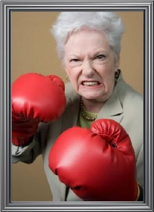 boxing grandma wtf - 7970790912