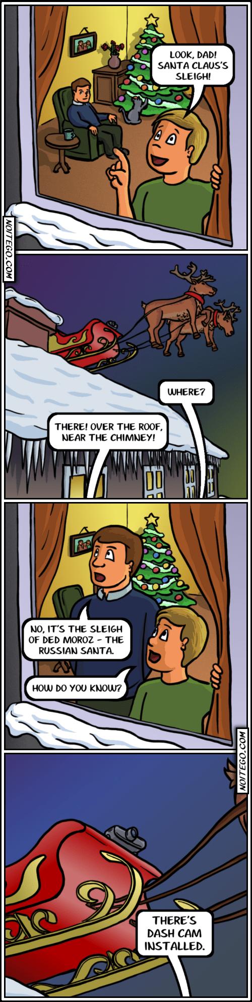 christmas reindeer santa claus web comics - 7971141120