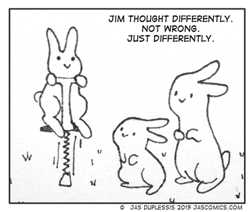 bunnies,web comics,pogo sticks