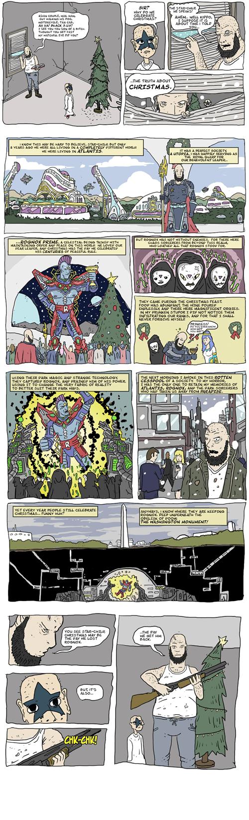 atlantis,christmas,mindwarp,wtf,web comics