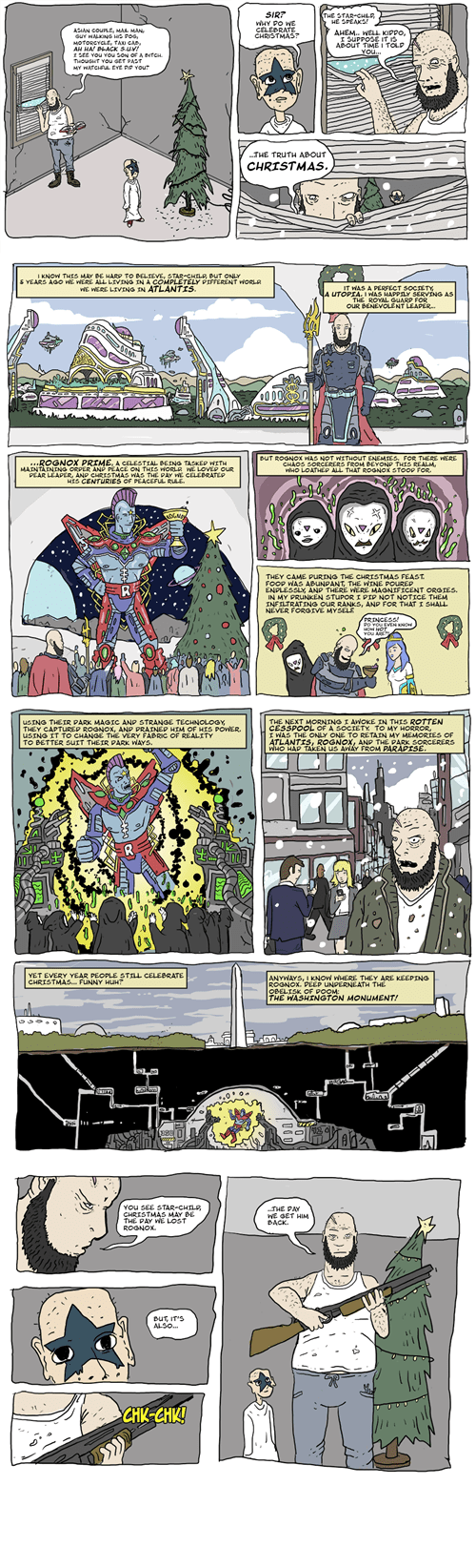 atlantis christmas mindwarp wtf web comics - 7971149824