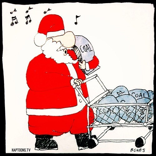 christmas,coal,santa claus,web comics