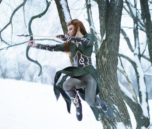 cosplay The Hobbit tauriel - 7971656192