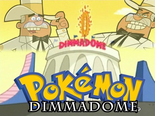 Fairly Oddparents Pokémon dimmadome - 7971920896