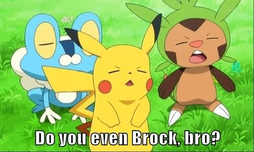 brock eyes Pokémon
