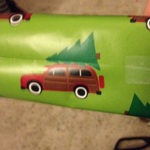 christmas presents wrapping paper - 7972385536
