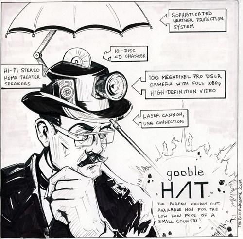 google hats wtf web comics - 7972945152