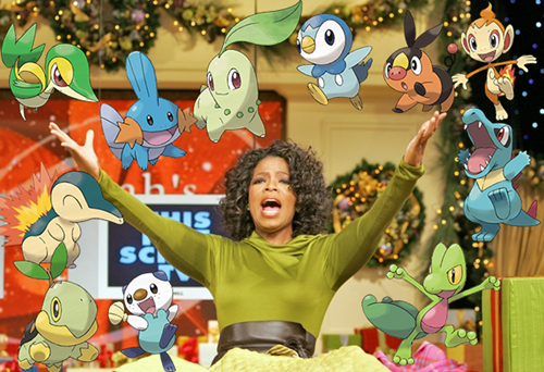 christmas,starters,oprah,wonder trade