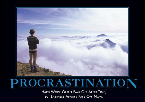 fun procrastination lazy funny - 7973071104