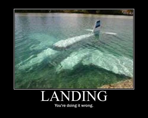 landing plane wrong funny - 7973134080