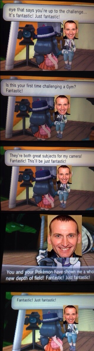 9th doctor crossover fantastic Pokémon - 7973280768