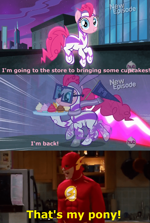 cupcakes big bang theory pinkie pie sheldon the flash - 7973318144