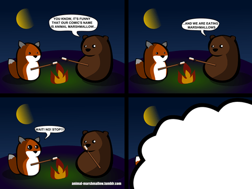 marshmallow meta Webcomic animal marshmallow - 7973471488