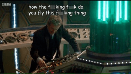 The New Doctor Is Already Confused
