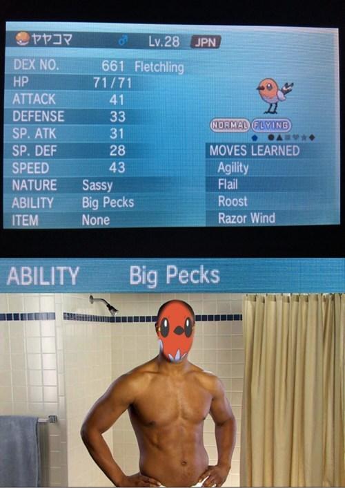 old spice Pokémon fletchling - 7973797376