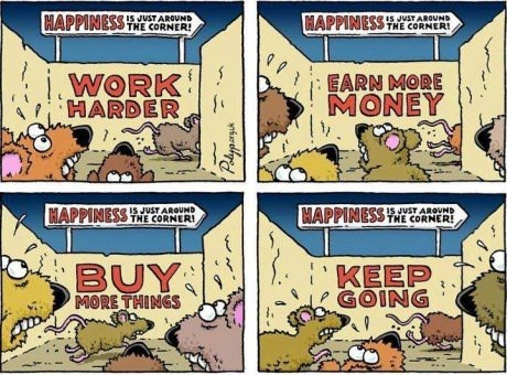 rat race,modern living,sad but true,web comics