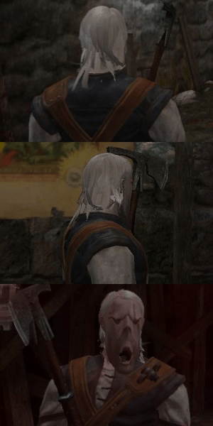video games wtf the witcher - 7973942272