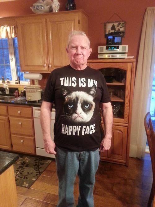 parenting Grumpy Cat grandpas - 7973977856
