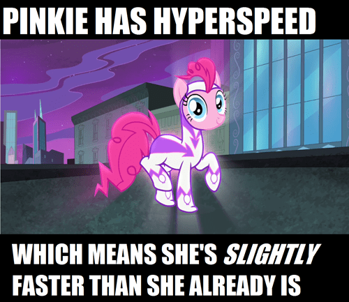 pinkie pie the flash power ponies - 7973981184