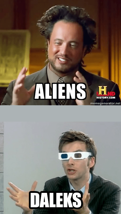 Aliens daleks doctor who - 7974009856