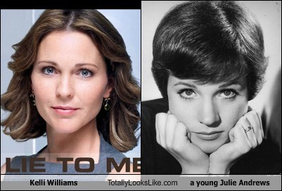 Julie Andrews,totally looks like,kelli williams