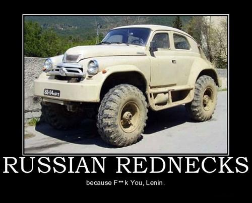 cars rednecks funny russia - 7974110464
