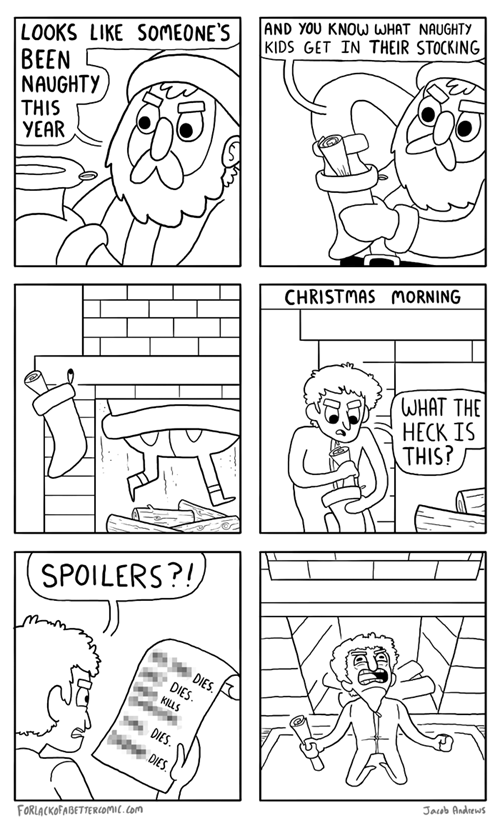 christmas santa web comics - 7974192640