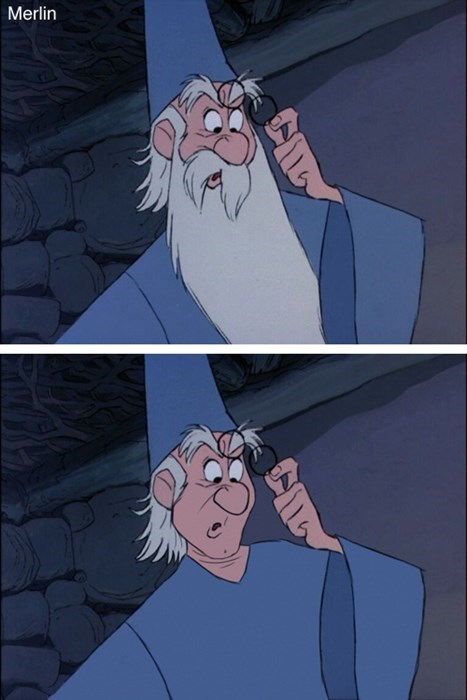 Cartoon - Merlin