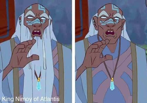 Cartoon - King Nimoy of Atlantis