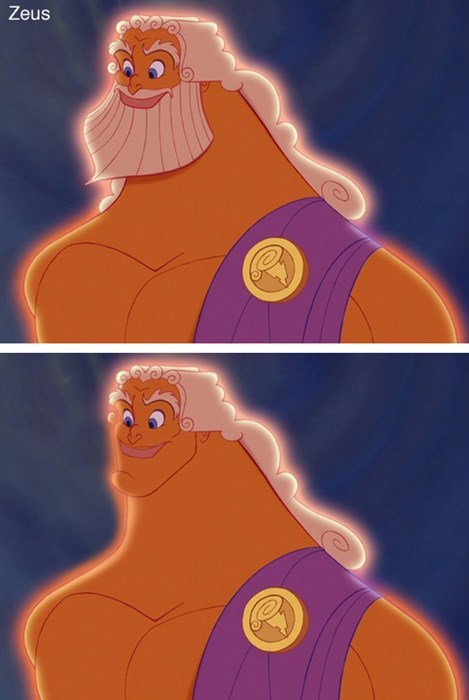 Cartoon - Zeus