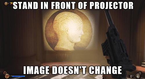 bioshock infinite video game logic - 7974322688