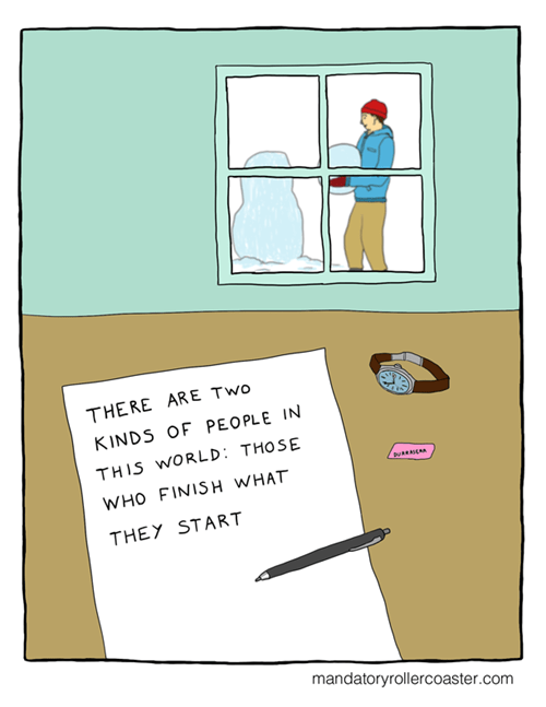 procrastination snow web comics - 7974330880