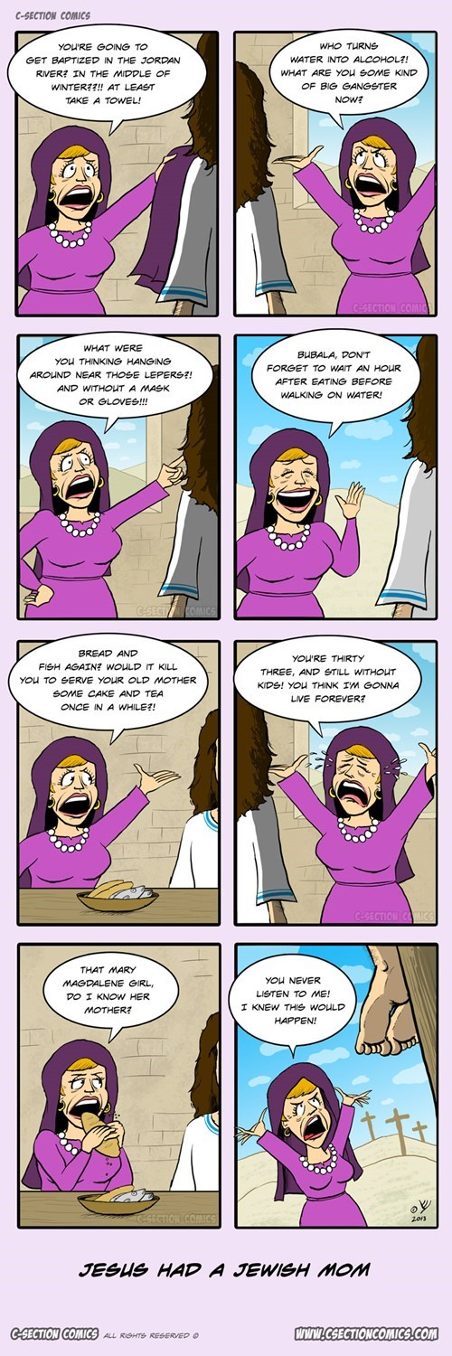 jesus moms web comics