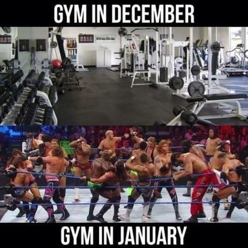 gyms new years resolutions wreslting