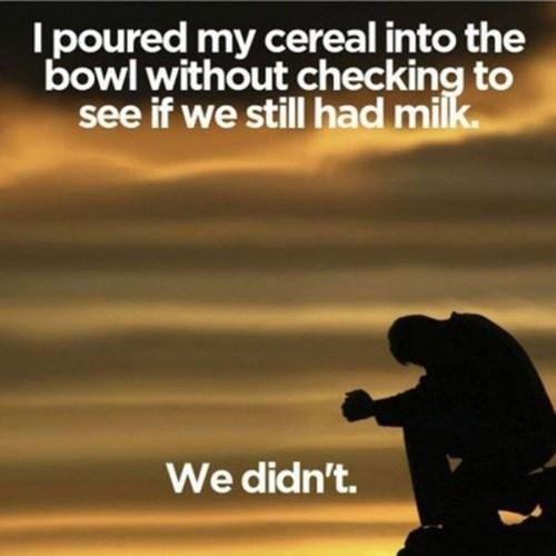 cereal food milk Sad - 7974377472