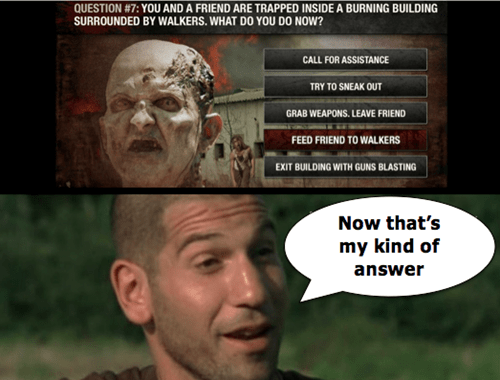 crazy personality test shane walsh The Walking Dead - 7974456832