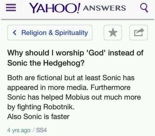 god religion sonic the hedgehog - 7975052800