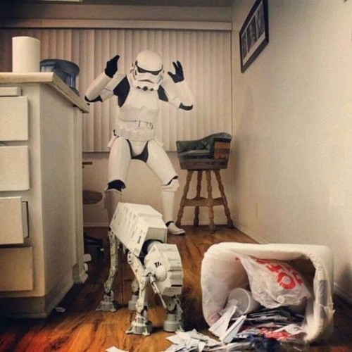 at at dogs star wars stormtrooper - 7975066368