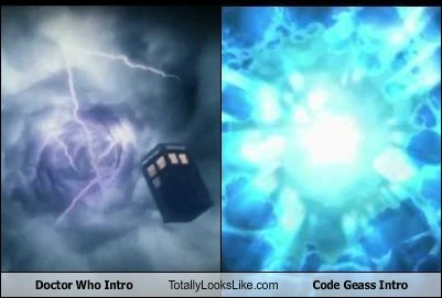 code geass,intros,totally looks like,doctor who