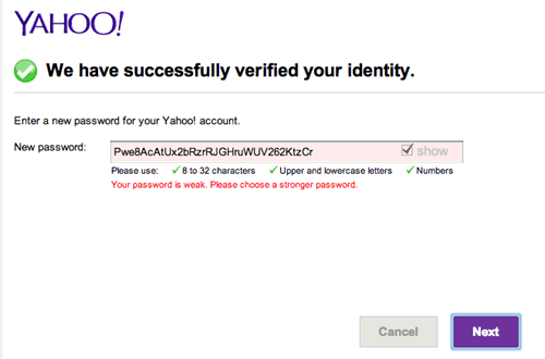 yahoo passwords - 7975110912