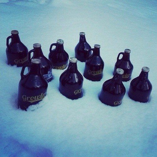 beer snow winter growlers funny after 12 g rated - 7975170048